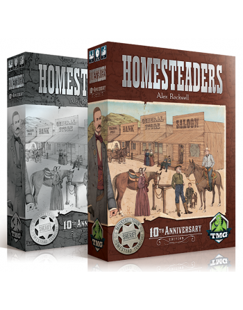 HOMESTEADERS + NEW...